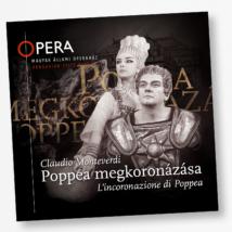 CD Claudio Monteverdi: Poppea megkoronázása